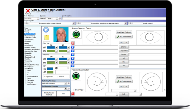 Ophthalmology EHR Software